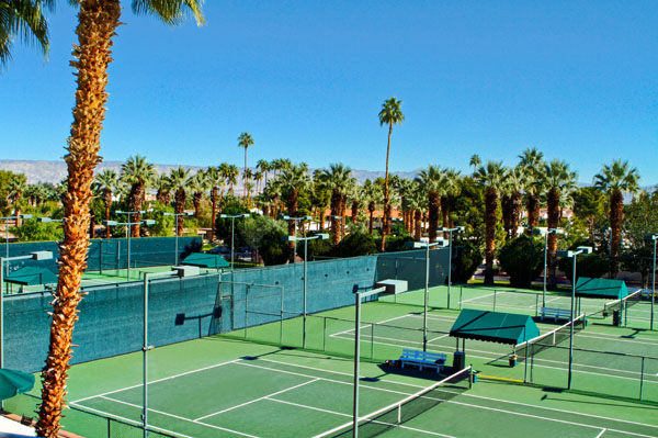 Palm Springs Tennis Club Resort Tennis Courts West Coast