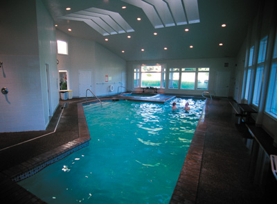 Worldmark Depoe Bay Resort Indoor Pool West Coast Condo