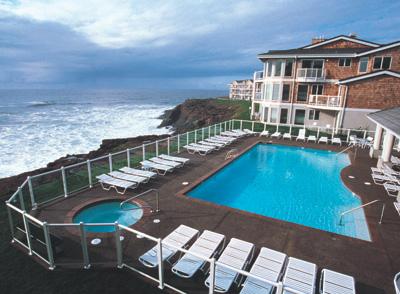 Worldmark Depoe Bay Resort Outdoor Pool West Coast Condo